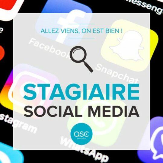 Studio ASC recrute un stagiaire social média